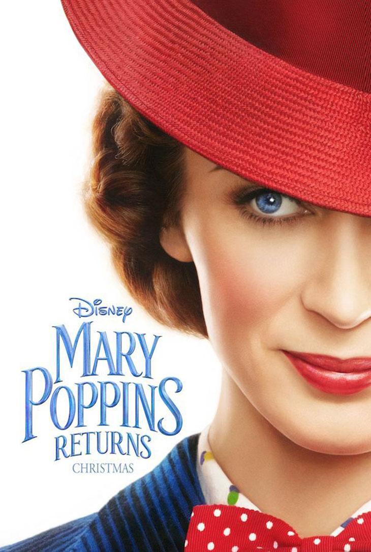 Póster de El regreso de Mary Poppins