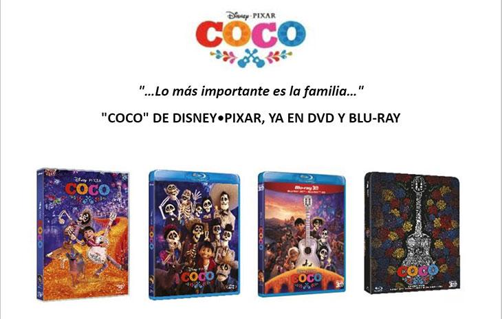Ediciones domésticas de 'Coco'