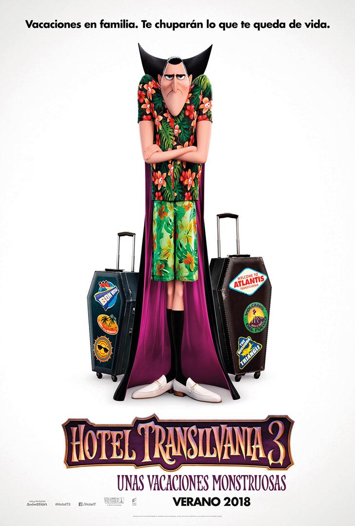 Póster de Hotel Transilvania 3. Unas vacaciones monstruosas