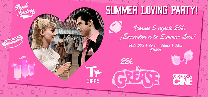 Summer Loving Party en Cibeles de Cine