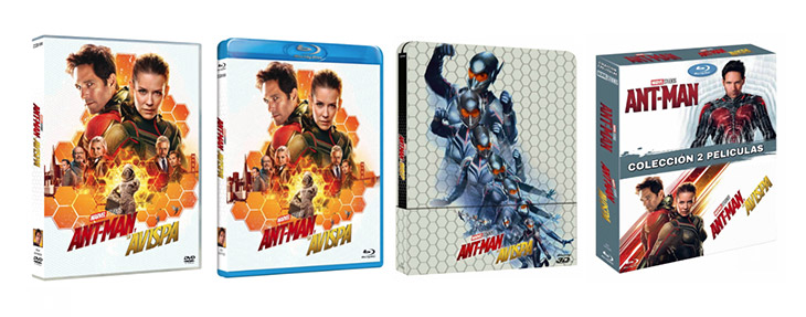 Ediciones de 'Ant-Man  y La Avispa'