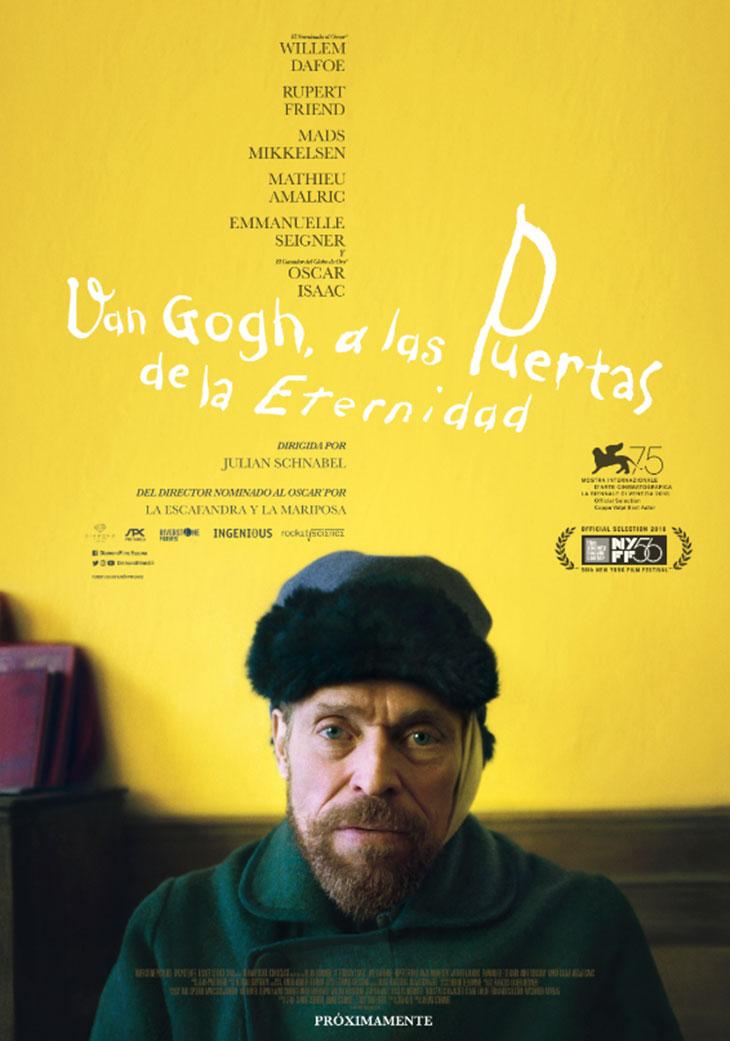 Póster de Van Gogh, a las puertas de la eternidad