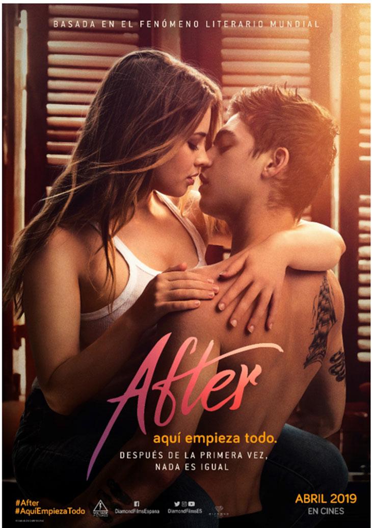 Nuevo póster de After. Aquí empieza todo