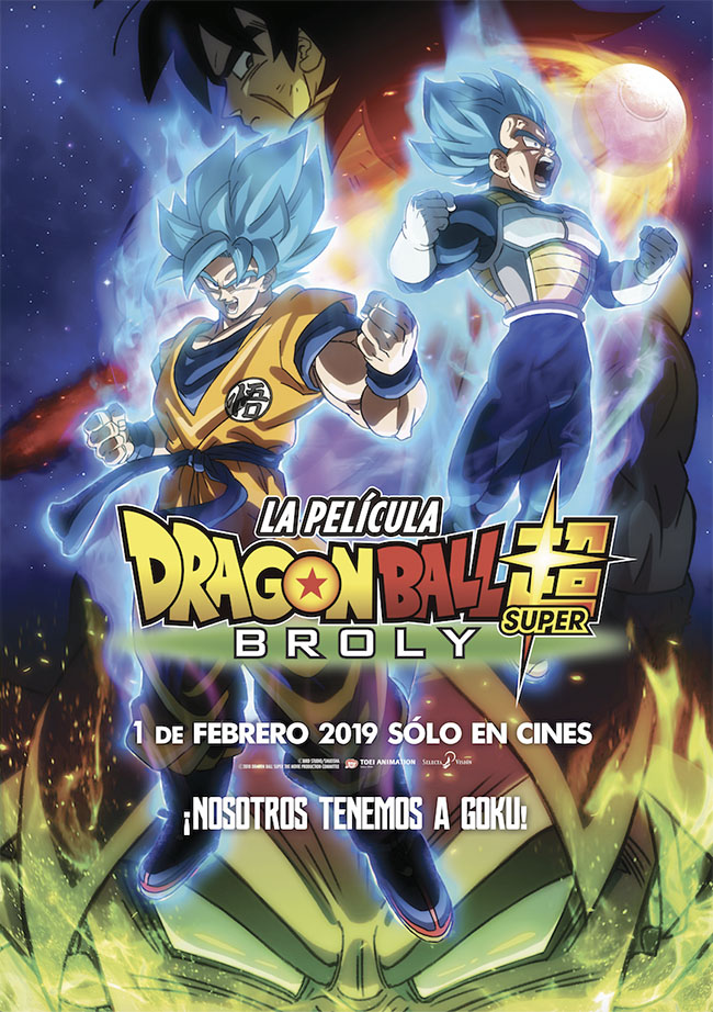 Póster de Dragon Ball Super: Broly