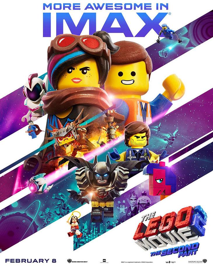 Póster de La LEGO película 2