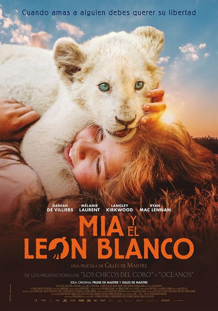 Póster de 'Mia y el león blanco'