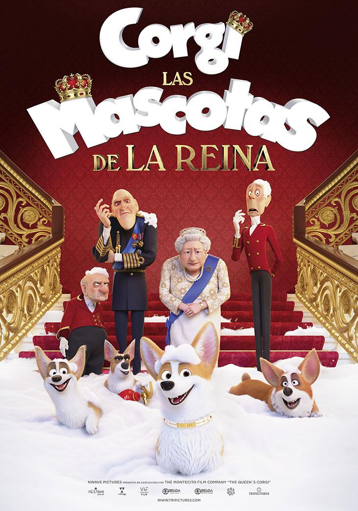 Póster de Corgi: Las mascotas de la Reina