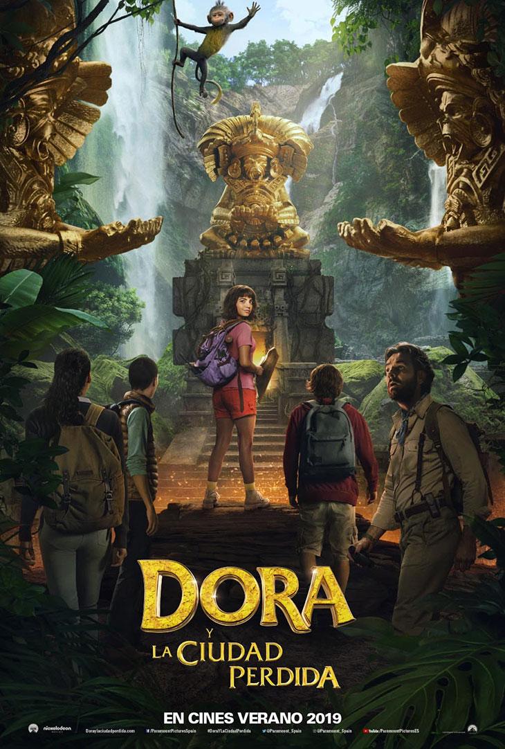 Póster de Dora y la ciudad perdida
