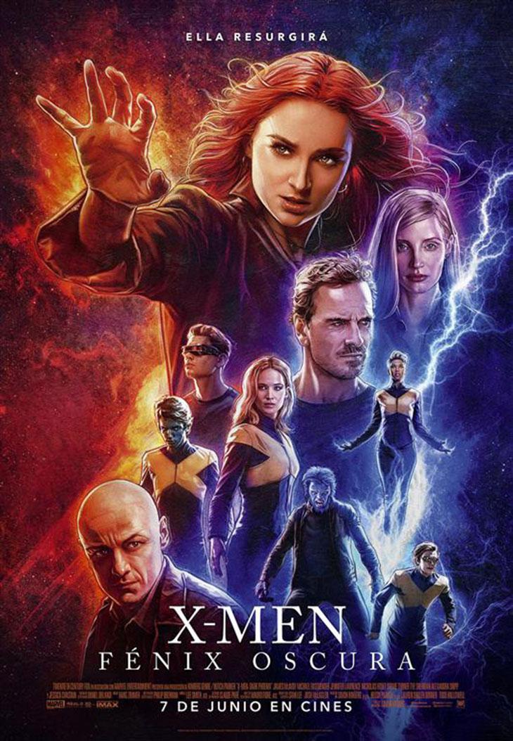 Póster de X-Men: Fénix Oscura