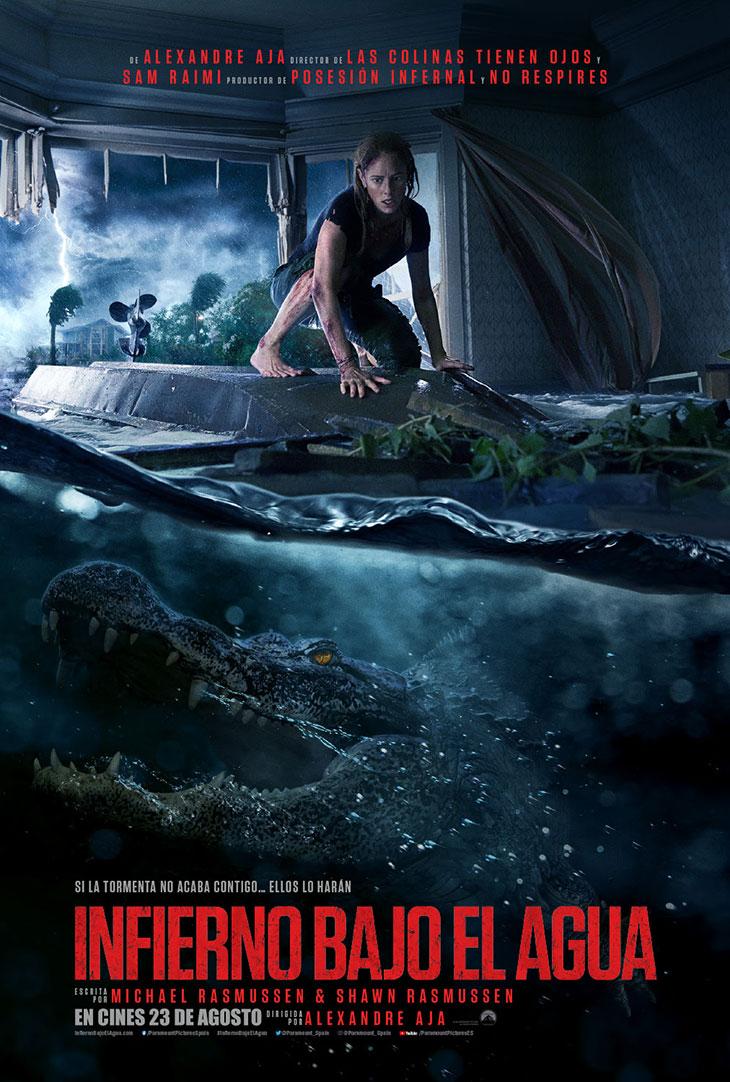 Póster de Infierno bajo el agua