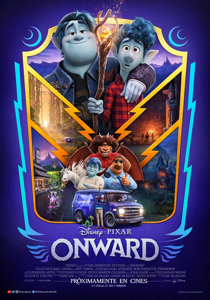 Póster de Onward
