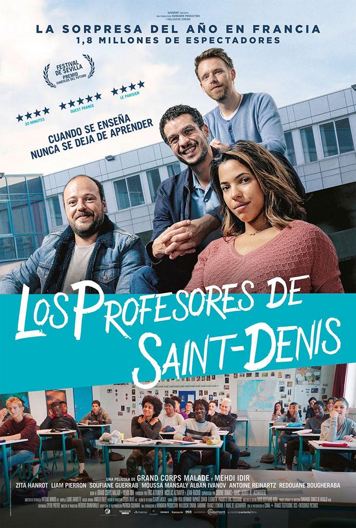 Póster de Los profesores de Saint-Denis
