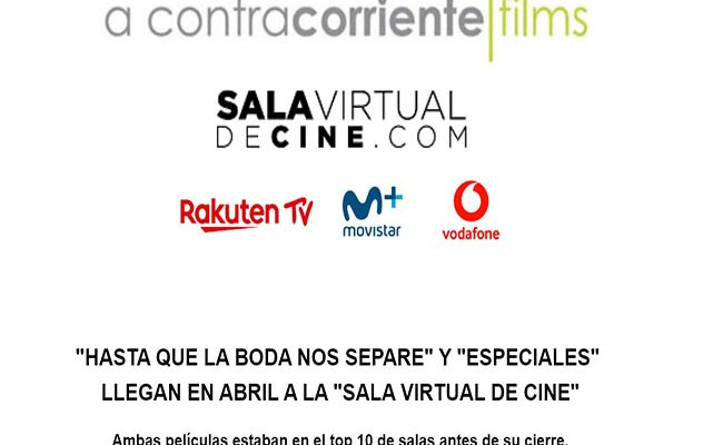 Sala virtual de cine destacada