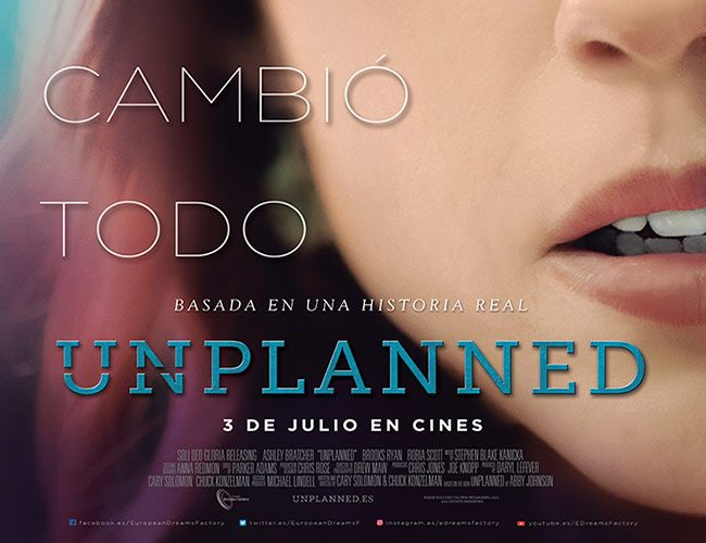 Póster de Unplanned destacada